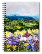 Pollinators Ravine Spiral Notebook
