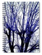 Vessels Of Blue Spiral Notebook