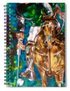 Polo Player Spiral Notebook