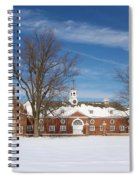 Polo Stables At Caumsett Spiral Notebook