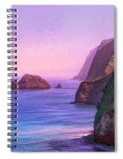 Pololu Valley Sunset Spiral Notebook