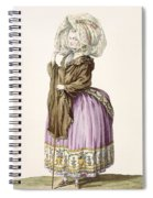 Polonoise, Engraved By Voysard, Plate Spiral Notebook