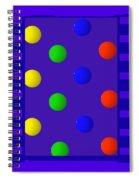 Polychrome Blue Spiral Notebook