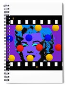 Polychrome Girl  Spiral Notebook