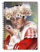 Polynesian Woman Spiral Notebook