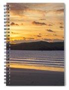 Polzeath Sunset 4 Spiral Notebook