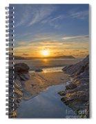 Polzeath Sunset Spiral Notebook