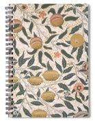 Pomegranate Design For Wallpaper Spiral Notebook