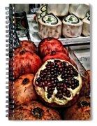 Pomegranates In Open Market Art II Spiral Notebook