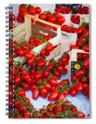 Pomodori Italiani Spiral Notebook
