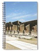 Pompeii 5 Spiral Notebook