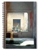 Pompeii Courtyard Spiral Notebook