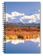 Pond, Alaska Range, Denali National Spiral Notebook