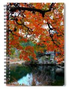Fall At Lost Maples State Natural Area Spiral Notebook