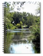 Pond At Tifft Nature Preserve Buffalo New York  Spiral Notebook