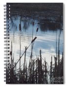 Pond At Twilight Spiral Notebook