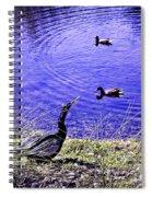 Pond Days Spiral Notebook