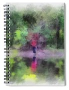 Pond Fishing Photo Art Spiral Notebook