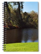 Pond In A Garden, Middleton Place Spiral Notebook
