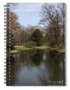 Pond In The Park Spiral Notebook