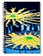 Pond Lily Pad Abstract Spiral Notebook