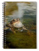Pond Song Spiral Notebook