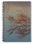 Pond Weed Reflections Spiral Notebook