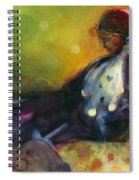Pondering The Cosmos Spiral Notebook