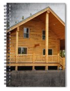 Pond's Cabin Spiral Notebook