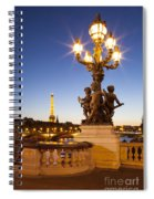 Pont Alexandre IIi - Paris Spiral Notebook