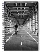 Pont De Bercy Spiral Notebook