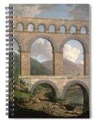 Pont Du Gard, Nimes Spiral Notebook