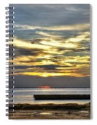 Pontchartrain Sunset Spiral Notebook