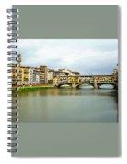 Ponte Vecchio 1 Spiral Notebook