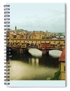 Ponte Vecchio 2 Spiral Notebook