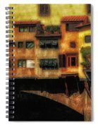 Ponte Vecchio Firenze Spiral Notebook