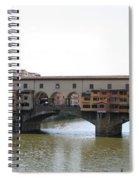 Ponte Vecchio I Spiral Notebook