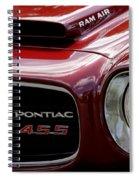 Pontiac 455 Spiral Notebook