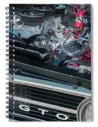 Pontiac G T O Spiral Notebook