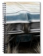 Pontiac Late 60s Spiral Notebook