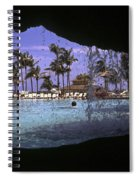 Pool And Palms Spiral Notebook