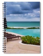 Pool At Rosewood Mayakoba Spiral Notebook