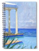 Pool Cabana Morning Spiral Notebook