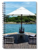 Pool Spiral Notebook