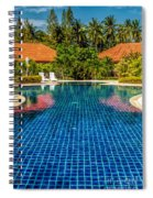 Pool Time Spiral Notebook