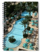 Pool1112b Spiral Notebook