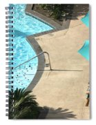 Pooldeck1145b Spiral Notebook