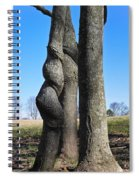 Poor Twisted Tree Spiral Notebook