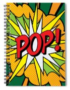 Pop Art 4 Spiral Notebook