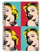 Pop Art Collage  Spiral Notebook